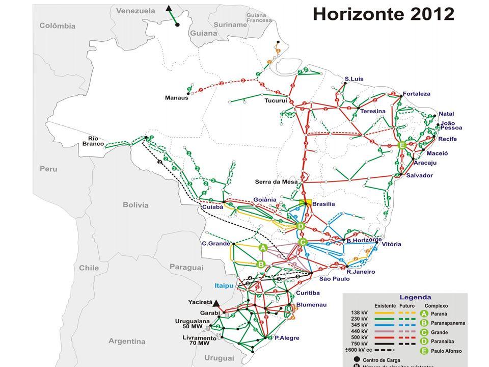 Rede Brasileira Grande e complexo sistema de subestações e linhas de transmissão. IEEE Smart Grid Workshop.