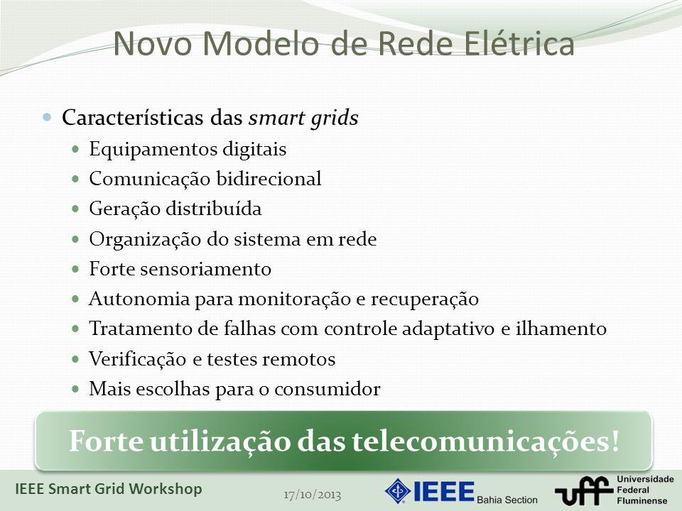 Novo Modelo de Rede Elétrica
