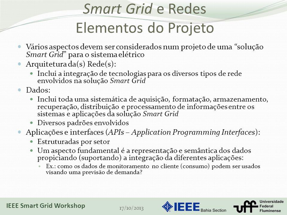 Smart Grid e Redes Elementos do Projeto