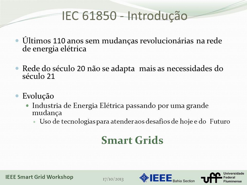 IEC 61850 - Introdução Smart Grids