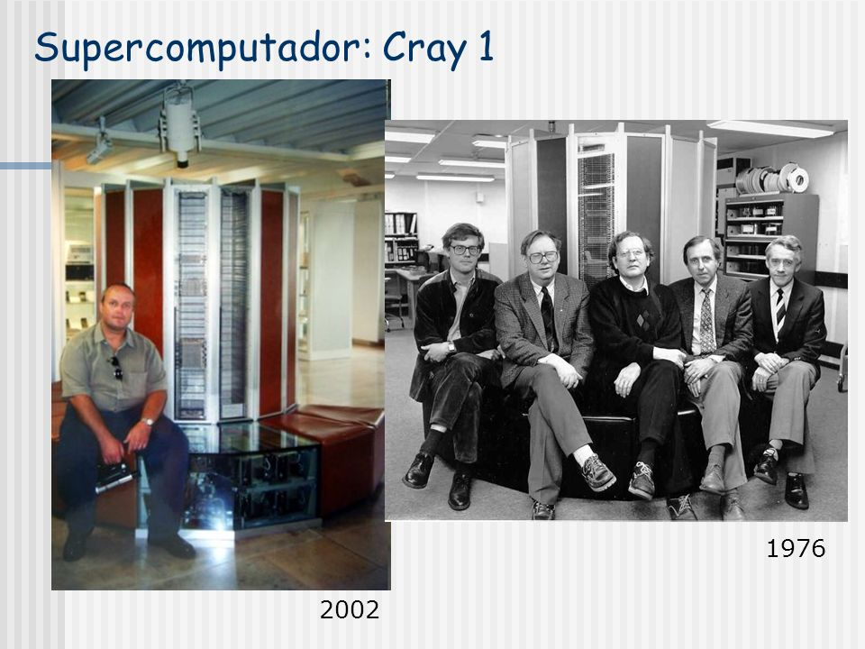 Supercomputador: Cray 1