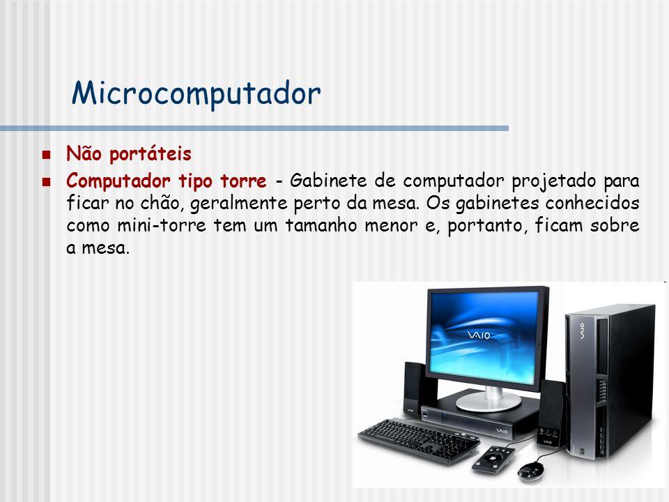 Microcomputador Não portáteis