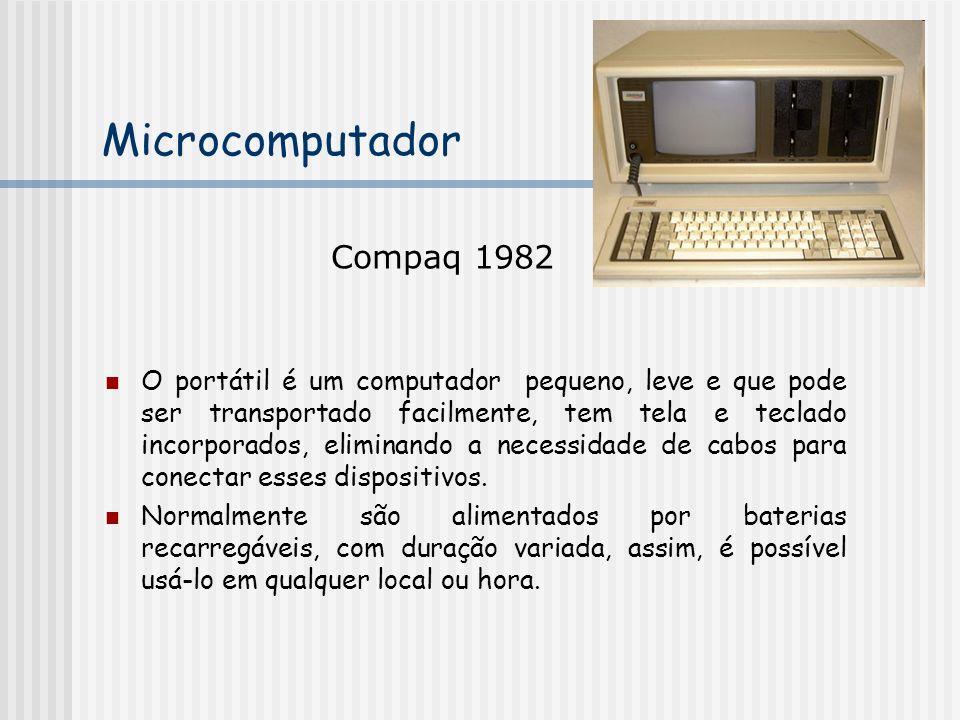 Microcomputador Compaq 1982