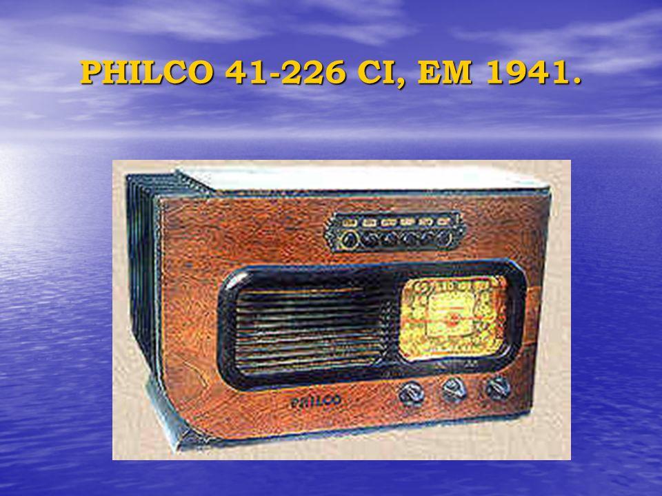 PHILCO 41-226 CI, EM 1941.