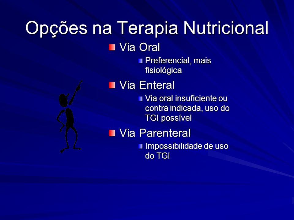 Opções na Terapia Nutricional