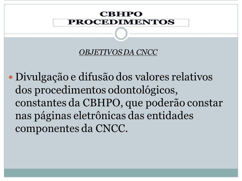 OBJETIVOS DA CNCC