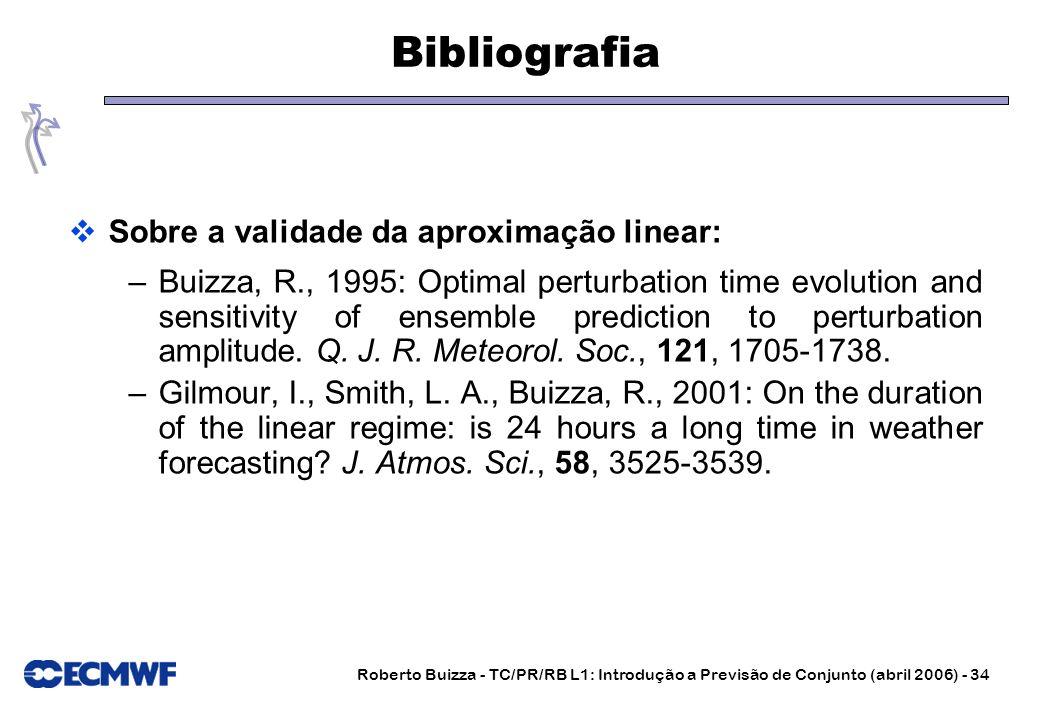 Bibliografia Sobre a validade da aproximação linear: