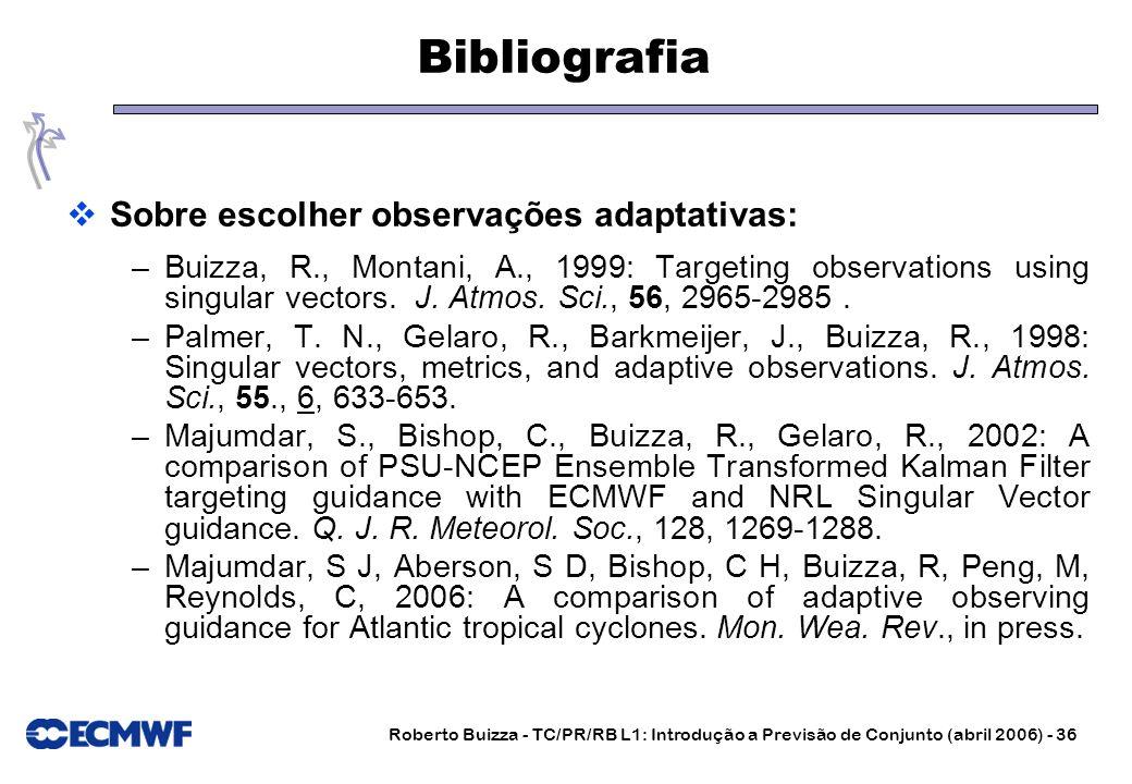 Bibliografia Sobre escolher observações adaptativas:
