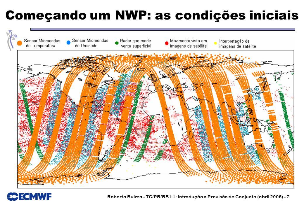 Começando um NWP: as condições iniciais