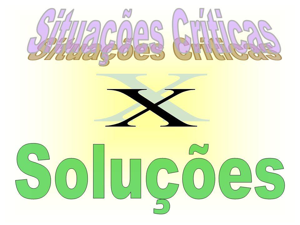 Situações Críticas X Soluções