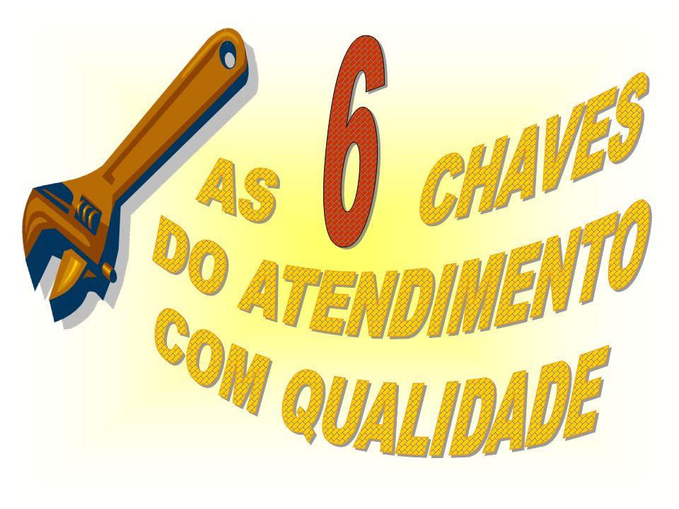 AS CHAVES DO ATENDIMENTO COM QUALIDADE 6