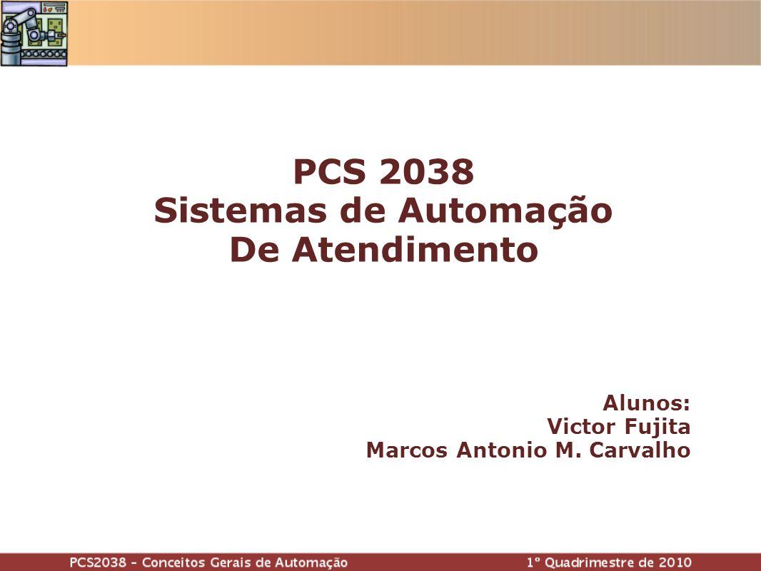 PCS 2038 Sistemas de Automação De Atendimento