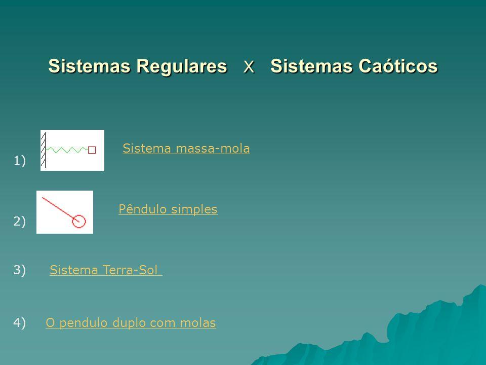 Sistemas Regulares X Sistemas Caóticos