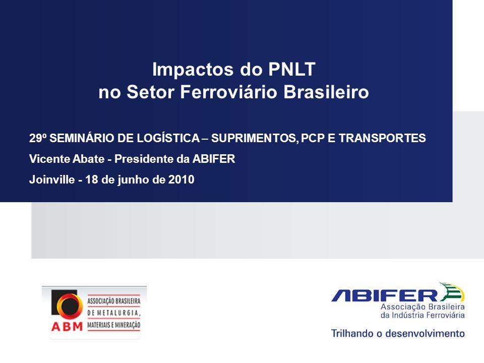 no Setor Ferroviário Brasileiro