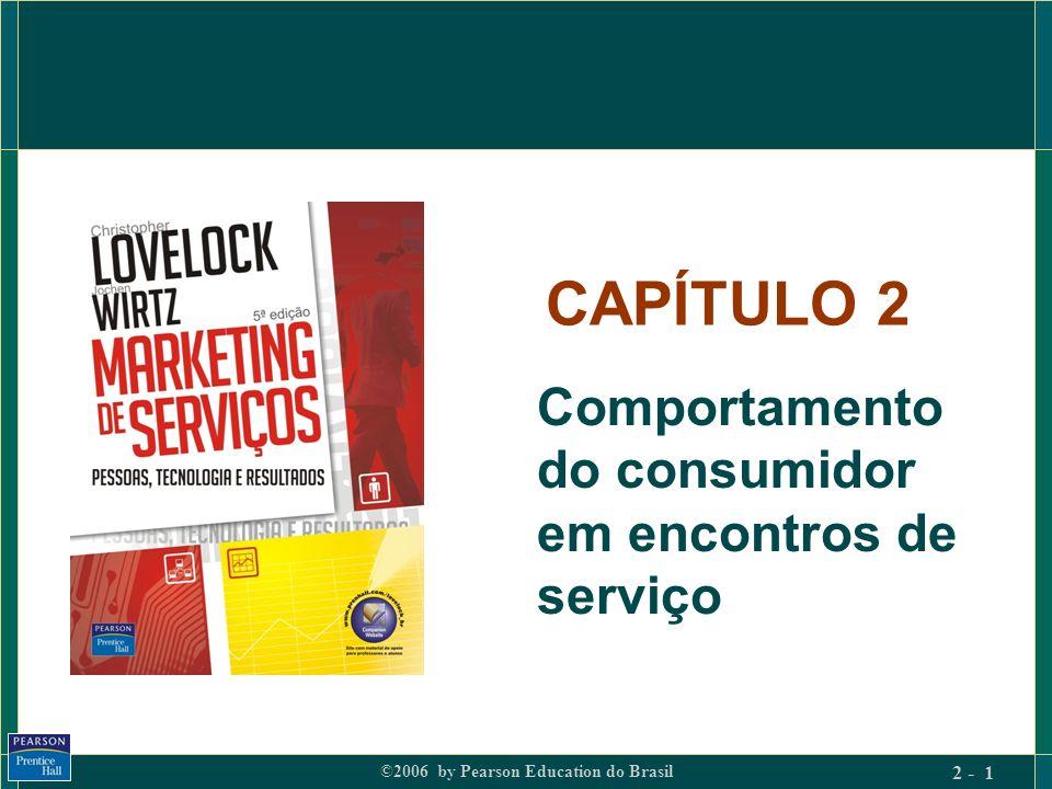 CAPÍTULO 2 Comportamento do consumidor em encontros de serviço