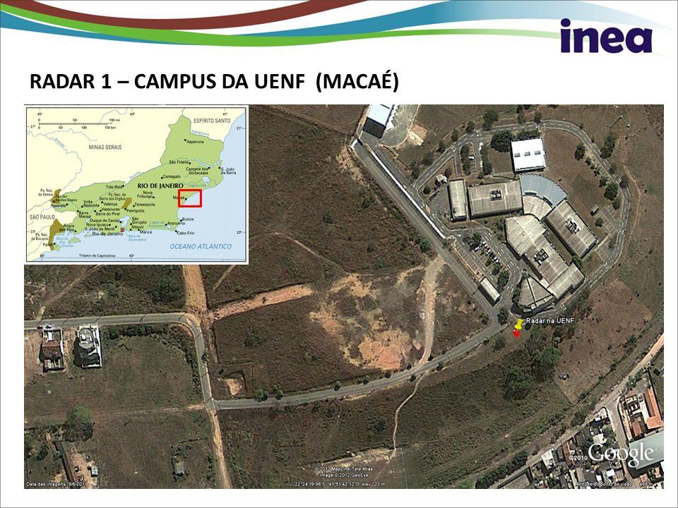 RADAR 1 – CAMPUS DA UENF (MACAÉ)