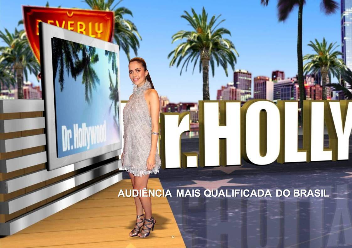 AUDIÊNCIA MAIS QUALIFICADA DO BRASIL