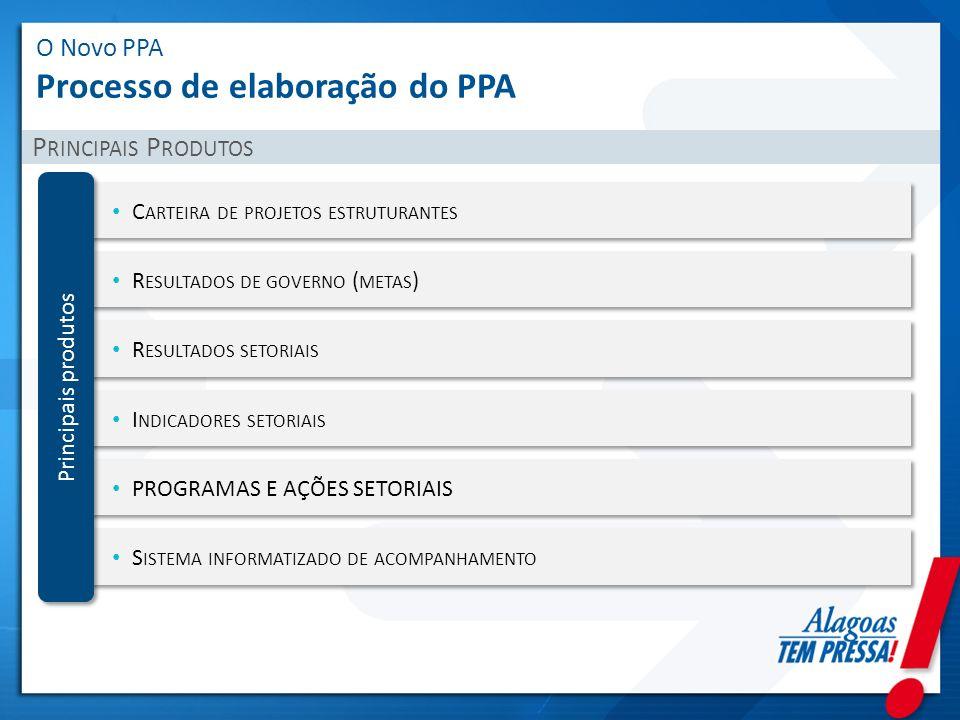 O Novo PPA Processo de elaboração do PPA