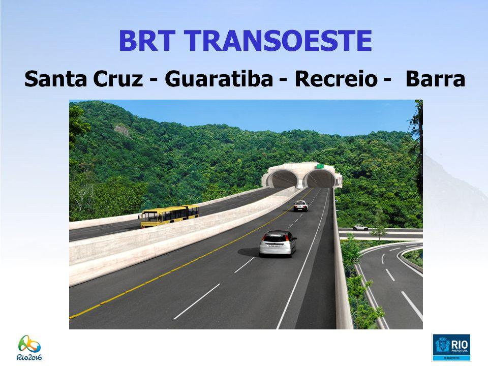 Santa Cruz - Guaratiba - Recreio - Barra