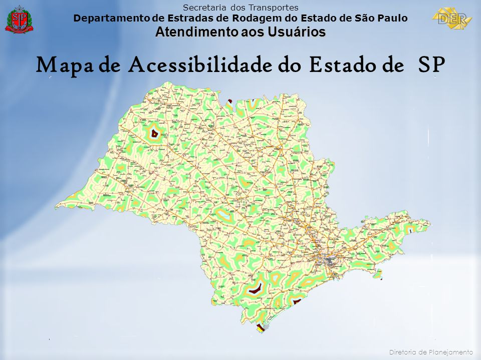 Mapa de Acessibilidade do Estado de SP