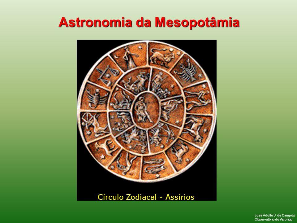 Círculo Zodiacal - Assírios