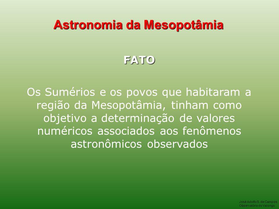 Astronomia da Mesopotâmia