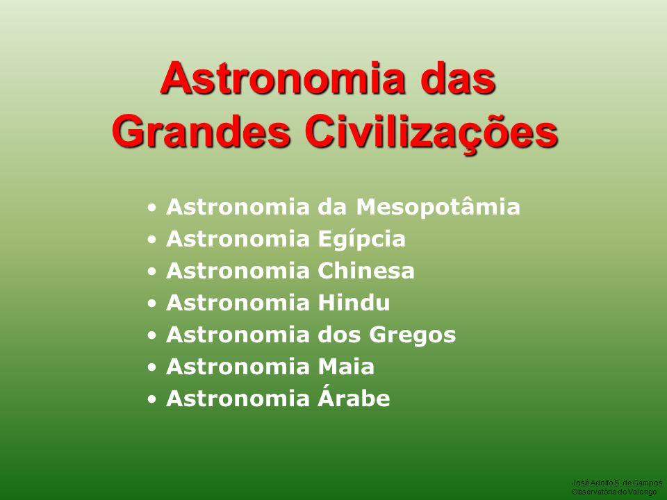 Astronomia das Grandes Civilizações
