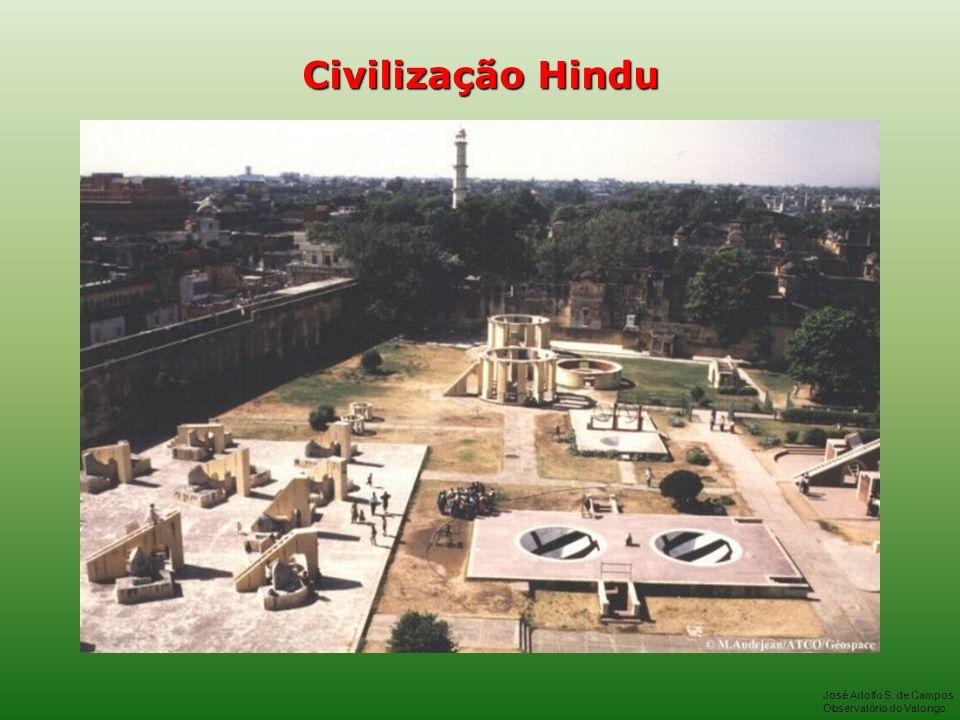 Civilização Hindu José Adolfo S. de Campos Observatório do Valongo