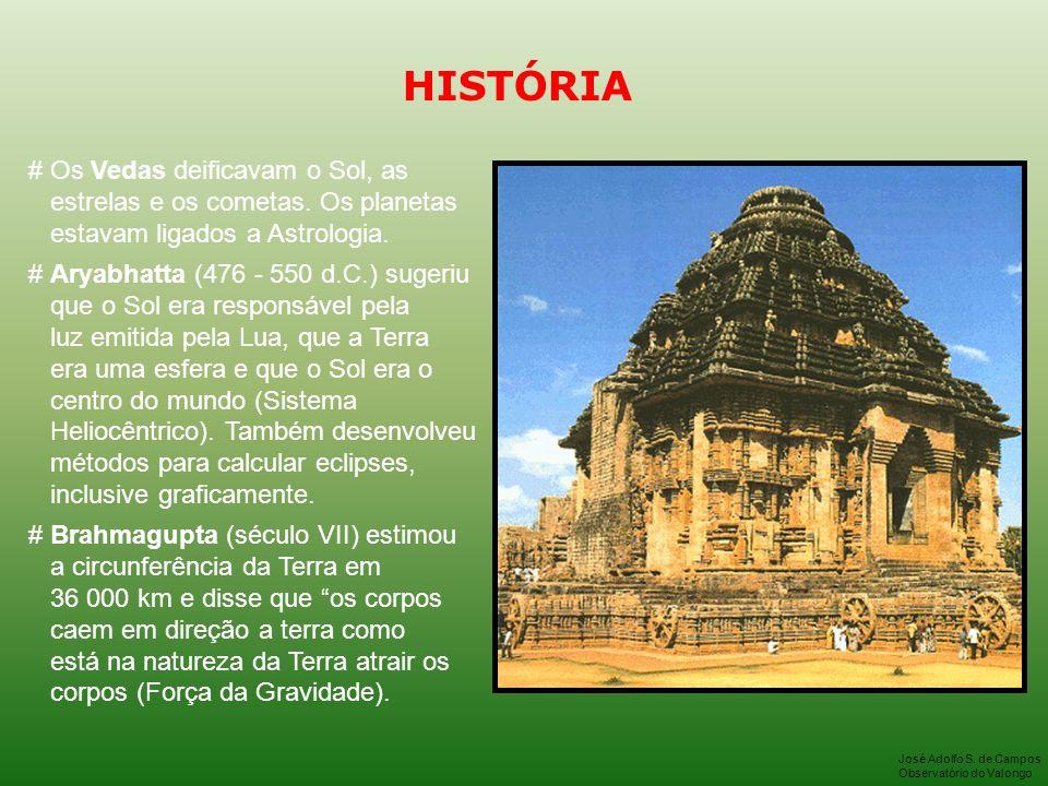 HISTÓRIA # Os Vedas deificavam o Sol, as