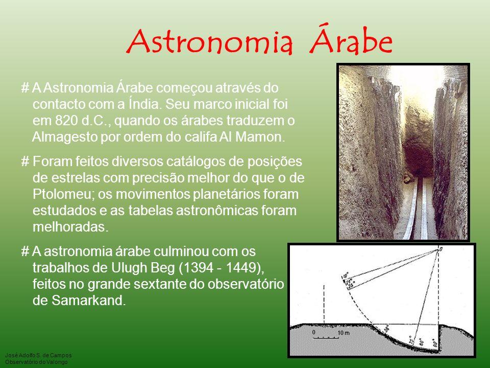 Astronomia Árabe # A Astronomia Árabe começou através do