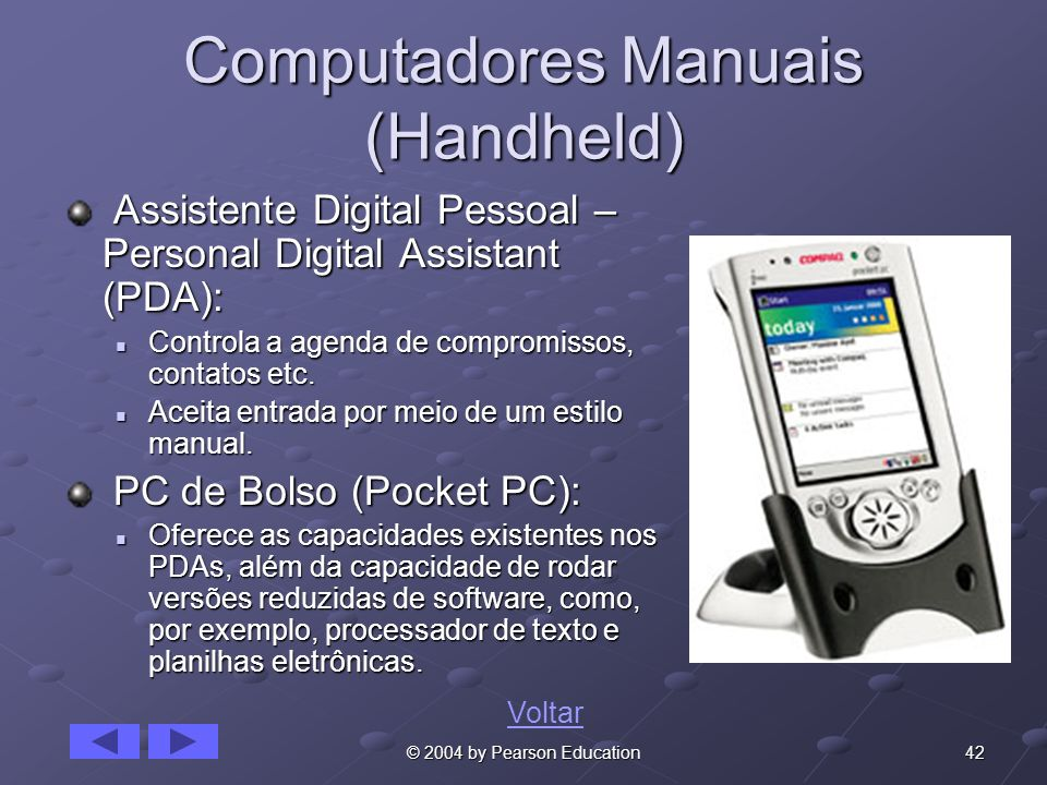 Computadores Manuais (Handheld)