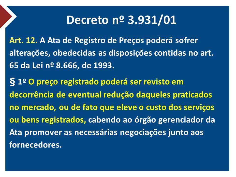 Decreto nº 3.931/01