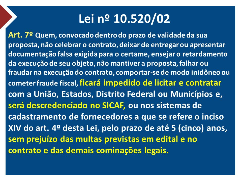 Lei nº 10.520/02