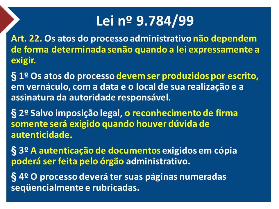 Lei nº 9.784/99