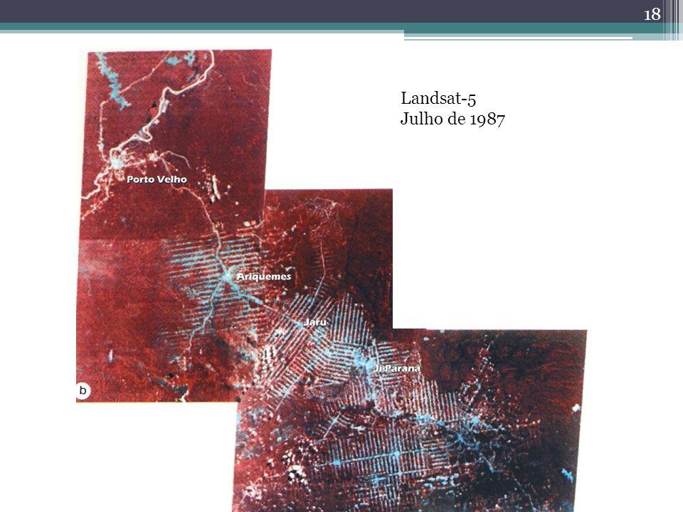 Landsat-5 Julho de 1987