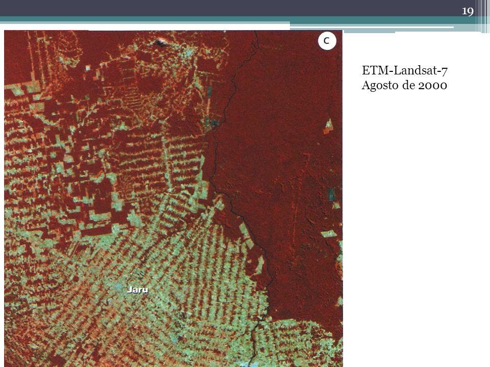 ETM-Landsat-7 Agosto de 2000