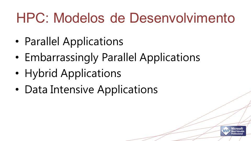 HPC: Modelos de Desenvolvimento