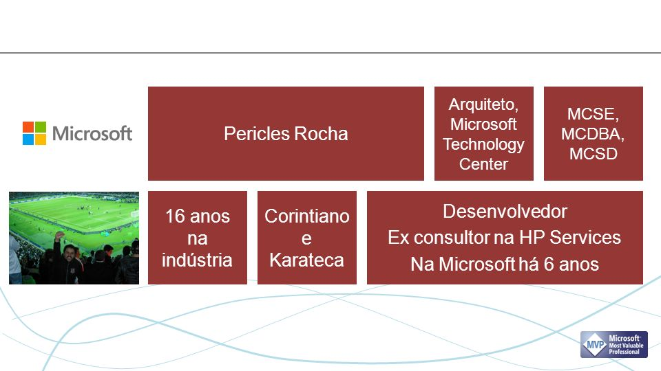 Ex consultor na HP Services Na Microsoft há 6 anos