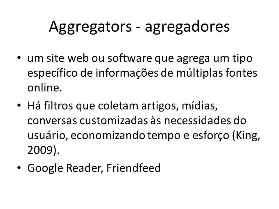 Aggregators - agregadores