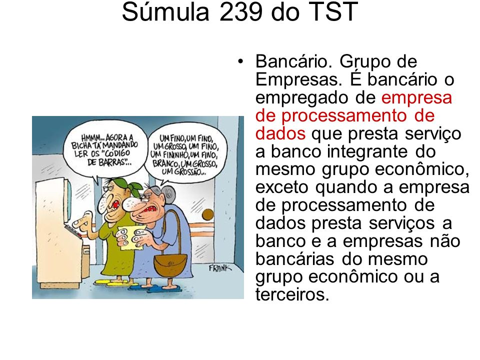 Súmula 239 do TST