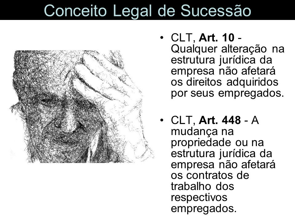 Conceito Legal de Sucessão