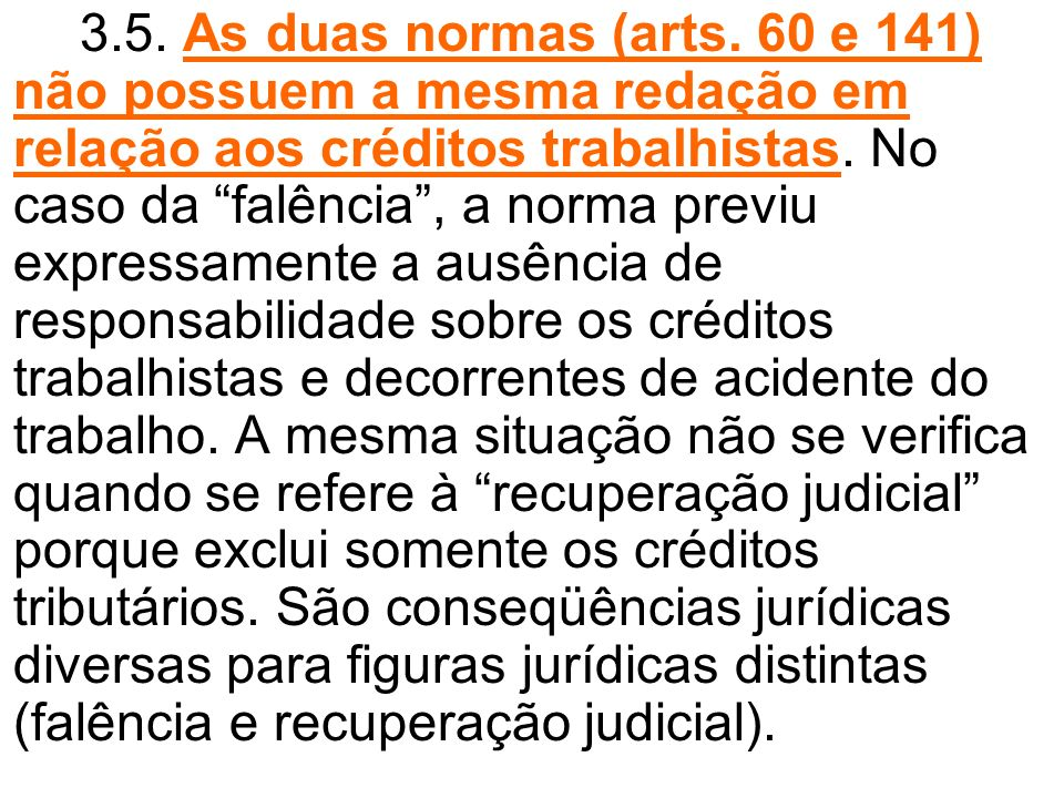 3.5. As duas normas (arts.