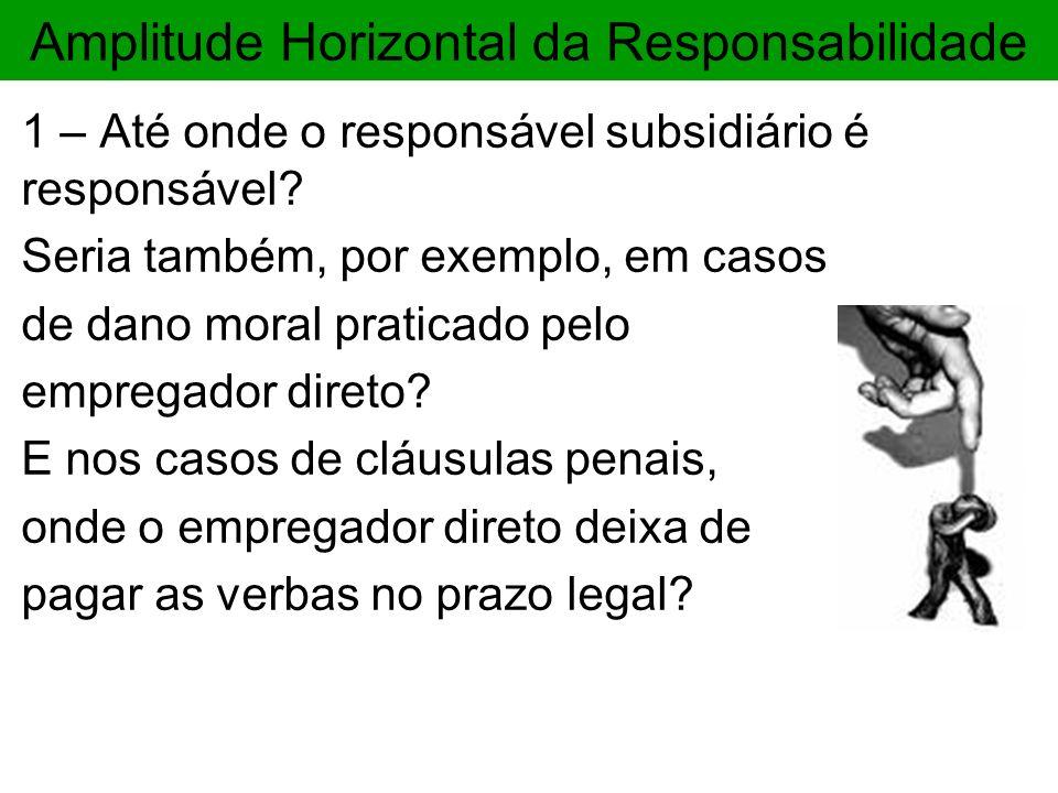 Amplitude Horizontal da Responsabilidade