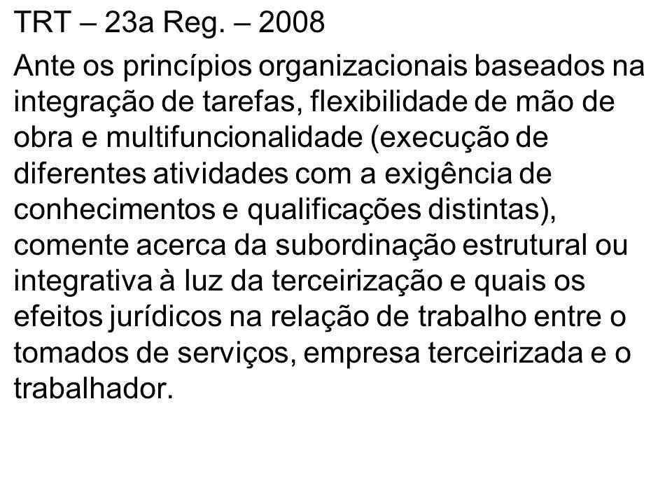 TRT – 23a Reg. – 2008