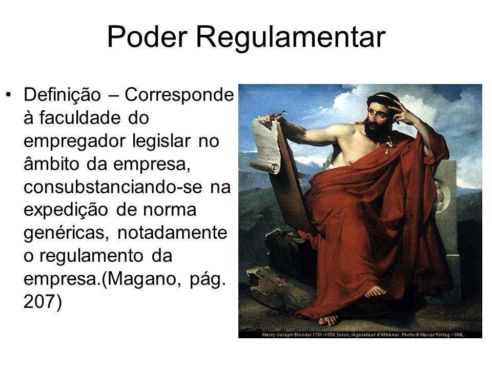 Poder Regulamentar