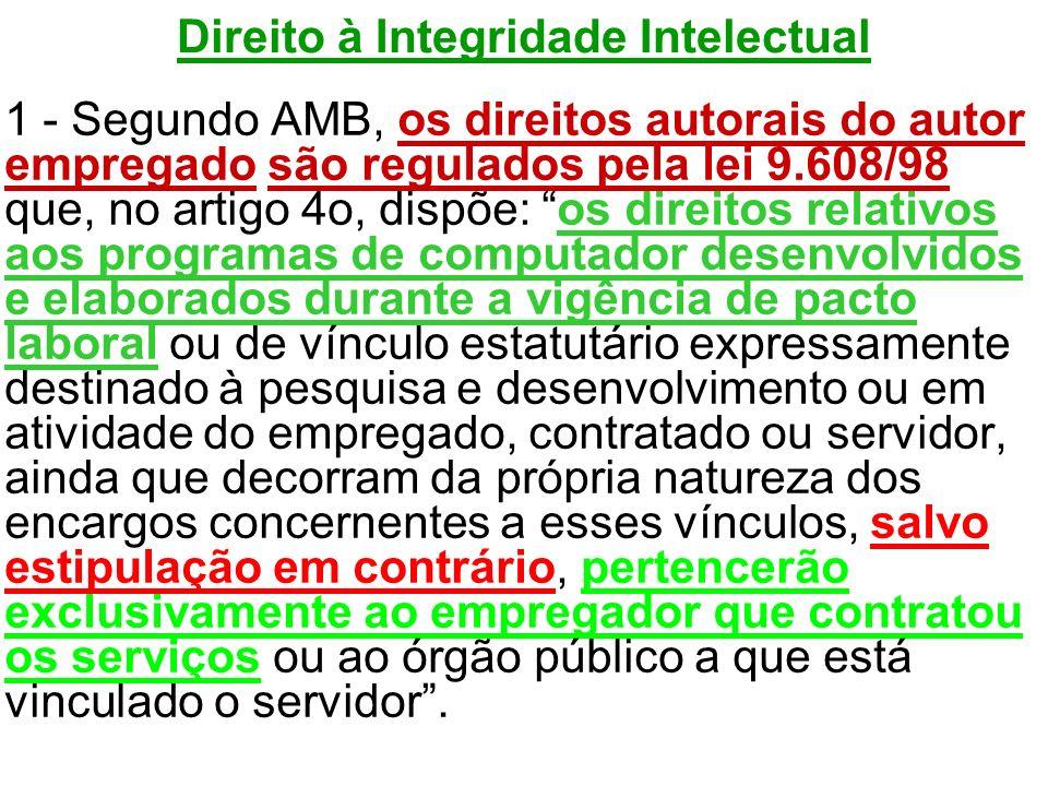 Direito à Integridade Intelectual