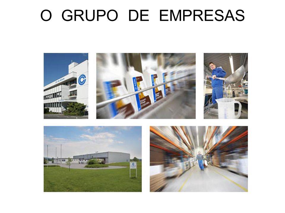 O GRUPO DE EMPRESAS