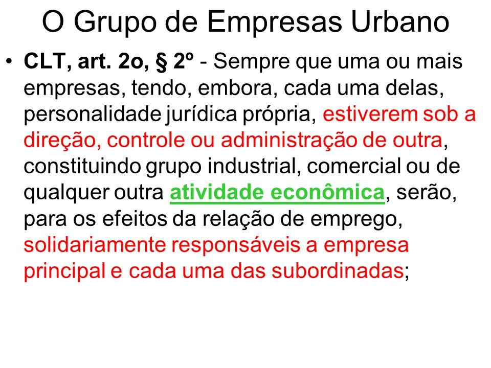 O Grupo de Empresas Urbano