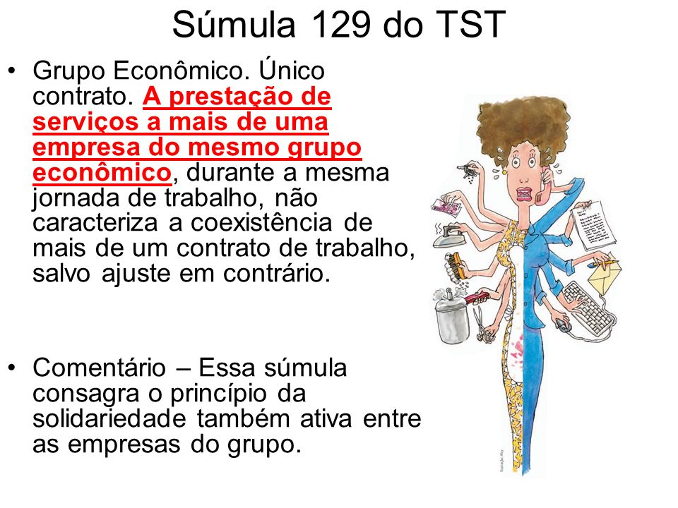 Súmula 129 do TST