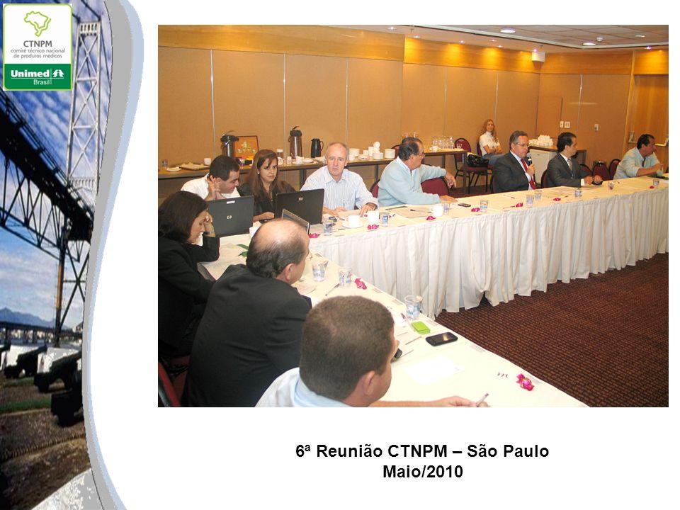 6ª Reunião CTNPM – São Paulo